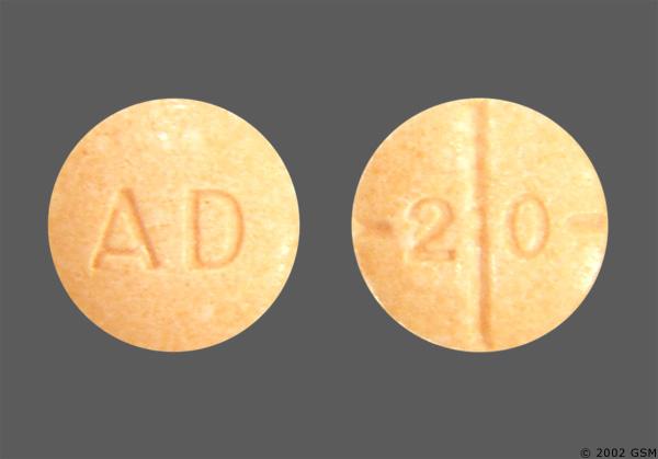 Adderall mg 20