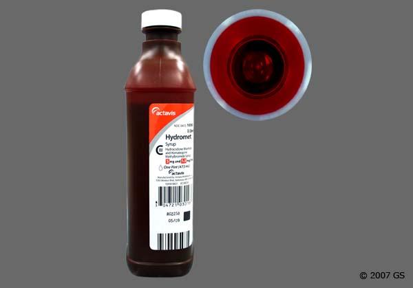 hydrocodone-homatropine 5-1.5 mg //5 ml syrupy