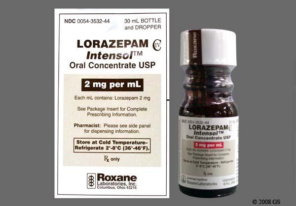 Lorazepam 2 mg iv