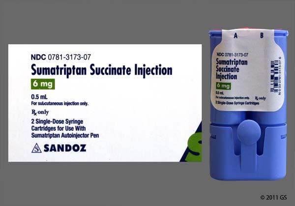 Sumatriptan Injection Kit